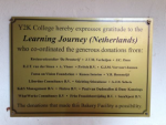 Thank you note from The Learning Journey
