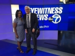 Taping of ABC Eyewitness News with Bill Pluta