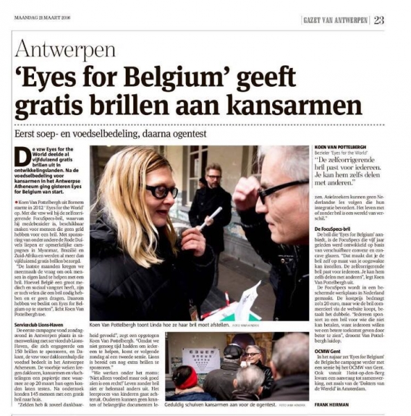 eyes for belgium